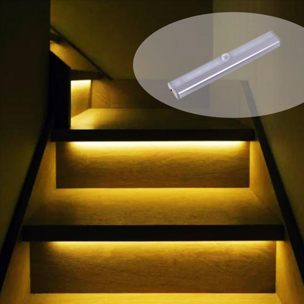 Fashion Portable Rechargeable Wireless Infrared Sensor LED Staircase Lights