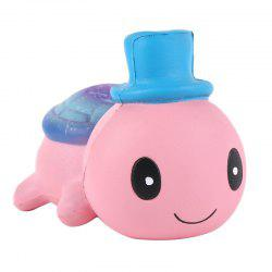 Jumbo Squishy Cute Hat Small Turtle Kawaii Cream Scented Toy -