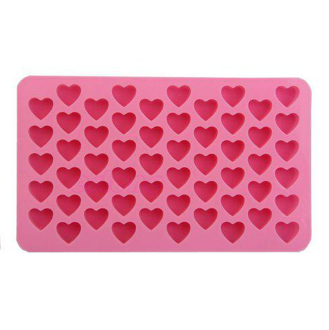 Shops Silicone 55 Heart Shaped Candy Chocolate Cake Baking Pan Mold