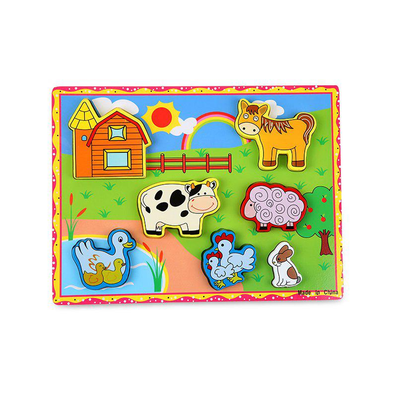 Buy Meadow Animal Woodiness Jigsaw Puzzle
