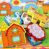 Meadow Animal Woodiness Jigsaw Puzzle -