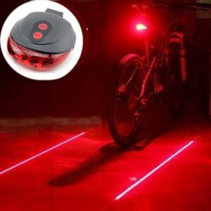Tail Light Cycling Safety Warning Bicycle Rear Lamp -