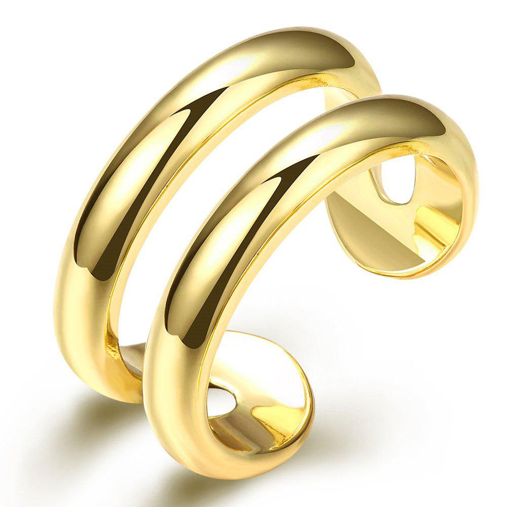 Store Fashion Adjustable Gold Plated Ring Charm Jewelry Gift for Women
