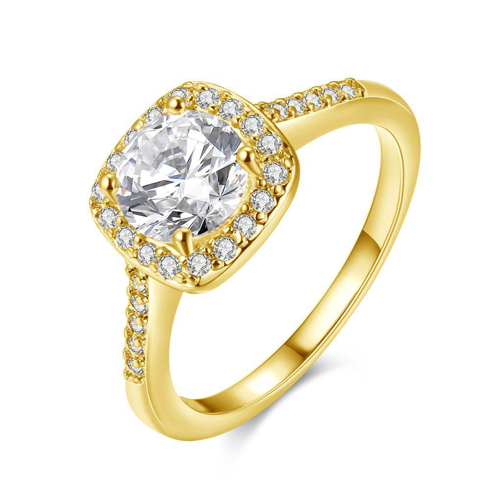 Chic Fashion Elegant Zircon Ring Charm Jewelry