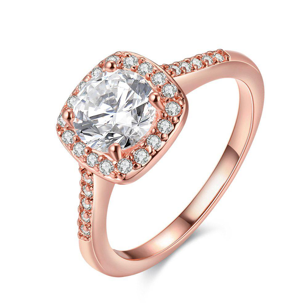 Hot Fashion Elegant Zircon Ring Charm Jewelry