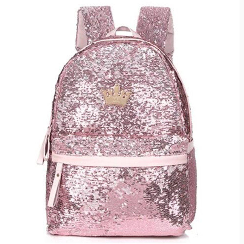 Latest Fashionable New Style Of Double-shouldered Bright Piece  Female Bag