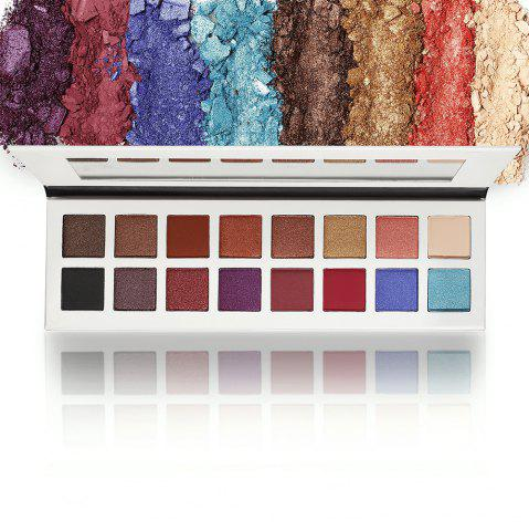 Chic 16 Colors Makeup Eyeshadow Compact