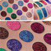 24 Colors Gold and Onion Powder Sequined Eyeshadow -