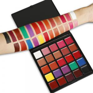 25 Colors Makeup Lipstick Plate -