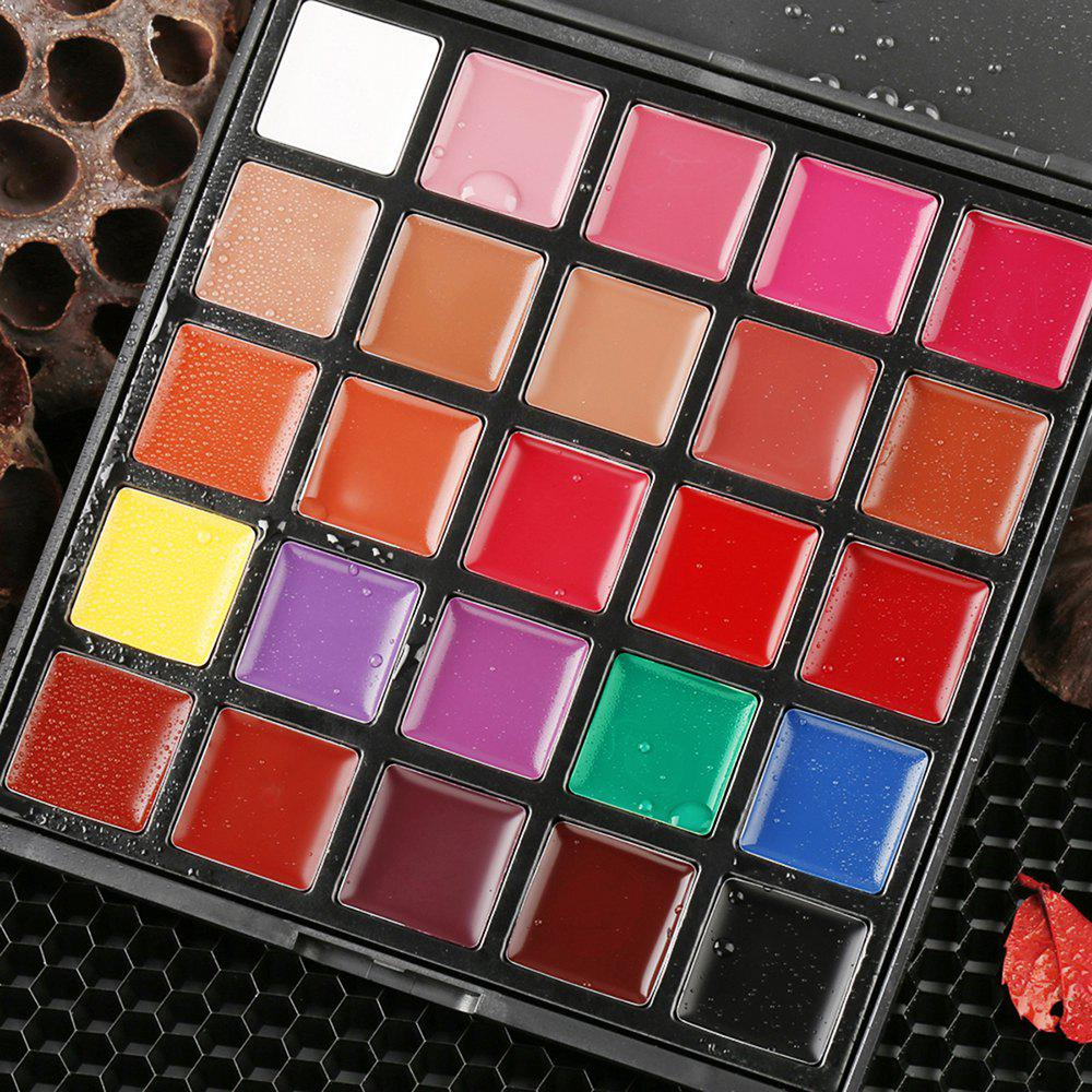 Unique 25 Colors Makeup Lipstick Plate