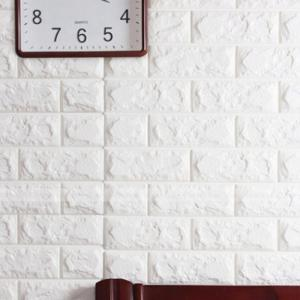 3D Brick Pattern Three-Dimensional Adhesive Simple Style Wall Stickers -