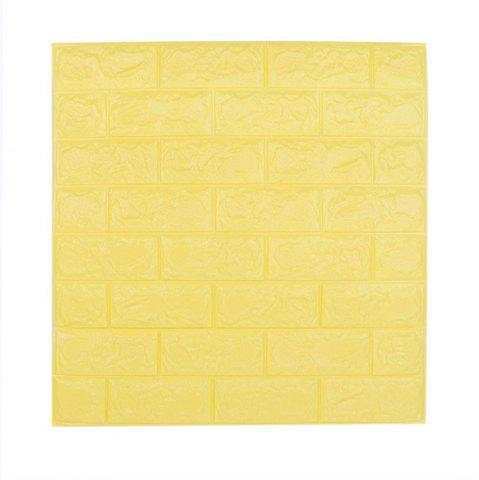 Outfit 3D Brick Pattern Three-Dimensional Adhesive Simple Style Wall Stickers