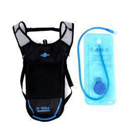 B - SOUL 2L Water Bag 5L  Hydration Backpack -