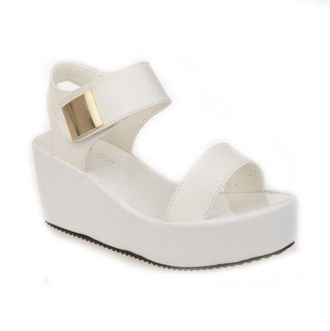 Unique Ladies Summer Sandals Fashion Thick Bottom Shoes for Girls