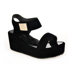 Ladies Summer Sandals Fashion Thick Bottom Shoes for Girls -