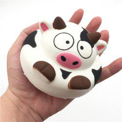 Jumbo Squishy Squeeze PU Dairy Cows Cake Packaging Collection Gift Soft Toy -