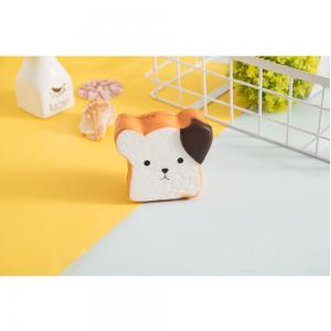 Jumbo Squishy Squeeze PU Toast Dog Packaging Collection Подарочная мягкая игрушка -