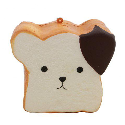 Jumbo Squishy Squeeze PU Toast Dog Packaging Collection Подарочная мягкая игрушка