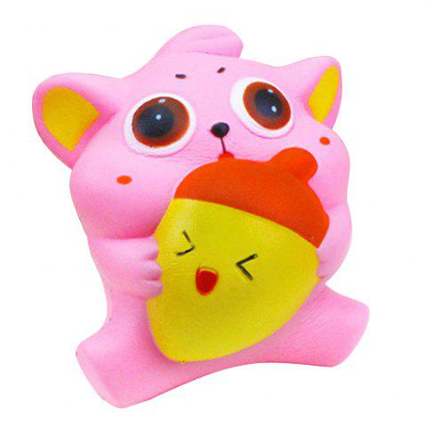 Shop Jumbo Squishy Squeeze PU Cat and Fish Packaging Collection Gift Soft Toy