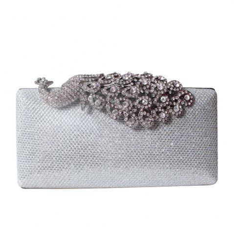 Best Women Bags Poly Urethane Metal Evening Bag Crystal Rhinestone For Wedding Event Party Formal