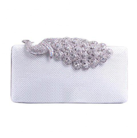 Affordable Women Bags Poly Urethane Metal Evening Bag Crystal Rhinestone For Wedding Event Party Formal