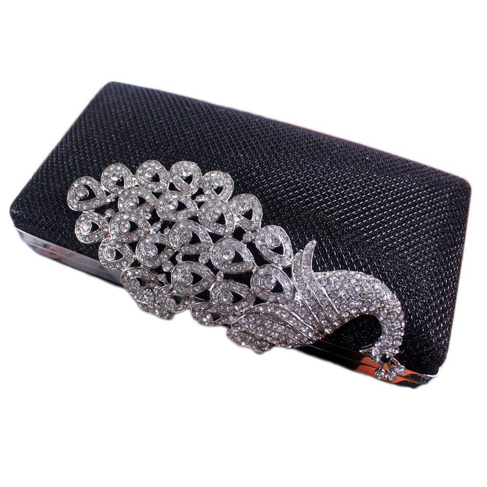 Buy Women Bags Poly Urethane Metal Evening Bag Crystal Rhinestone For Wedding Event Party Formal