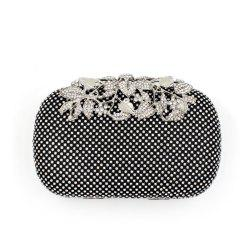 Women Evening Bag Crystal Rhinestone Acrylic Jewels Wedding Event Party Formal -