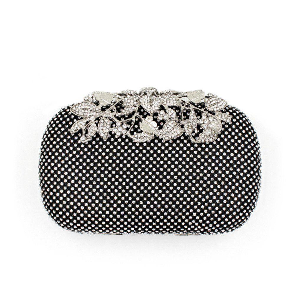 Store Women Evening Bag Crystal Rhinestone Acrylic Jewels Wedding Event Party Formal