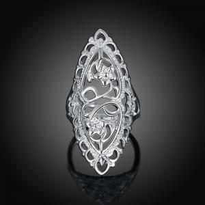 Fashion Creative Elegant Hollow Out Ring Charm Jewelry -