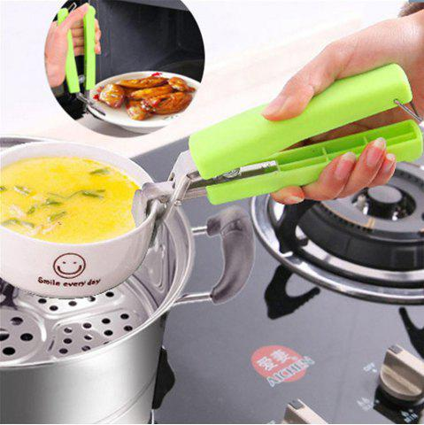 Sale Stainless Steel Anti-hot Bowl Clippers for Container / Barbecue Frame