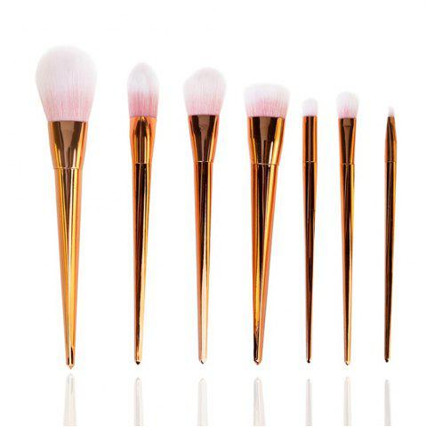 Buy 7 PCS Plastic Handle Make Up Brush Suit