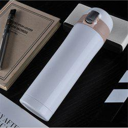 450ML Transhome Fashion Travel Bottle Water Vacuum Cup Thermos Stainless Steel Tumbler Thermocup -