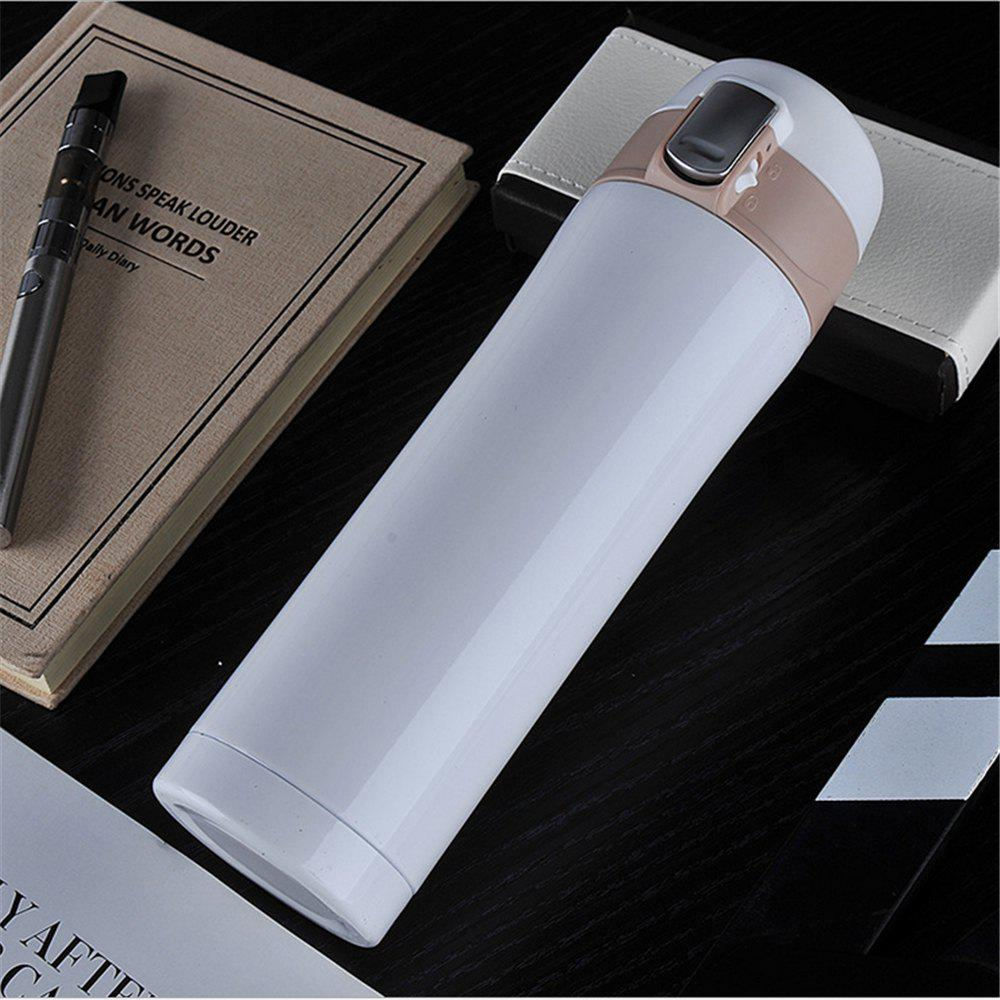 Cheap 450ML Transhome Fashion Travel Bottle Water Vacuum Cup Thermos Stainless Steel Tumbler Thermocup