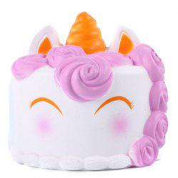 Jumbo Squishy Cute Unicorn Cake Squishies Super Slow Rising Toy -