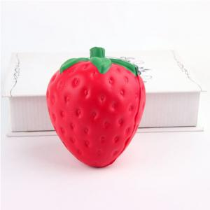 Jumbo Squishy Squeeze PU Strawberry Packaging Collection Gift Soft Toy -