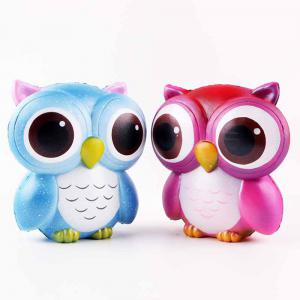 Jumbo Squishy Squeeze PU Owl Packaging Collection Gift Soft Toy -