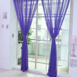 New Solid Color Banquet Decoration  Glass Yarn Curtain -