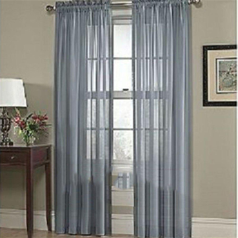 Affordable New Solid Color Banquet Decoration  Glass Yarn Curtain