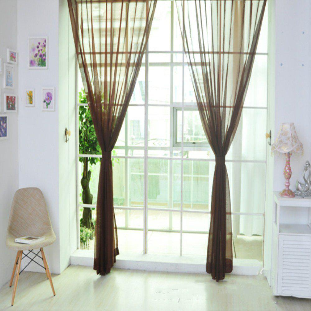 Latest New Solid Color Banquet Decoration  Glass Yarn Curtain