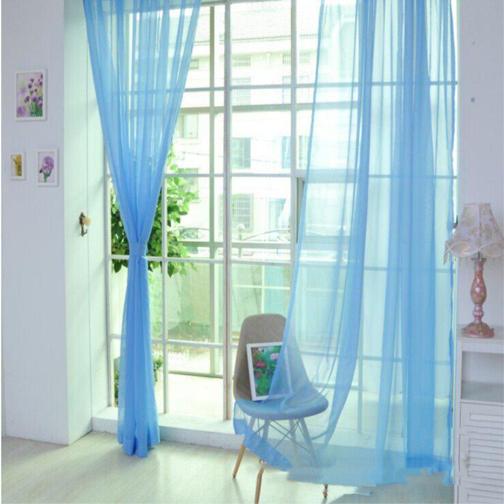 Outfit New Solid Color Banquet Decoration  Glass Yarn Curtain