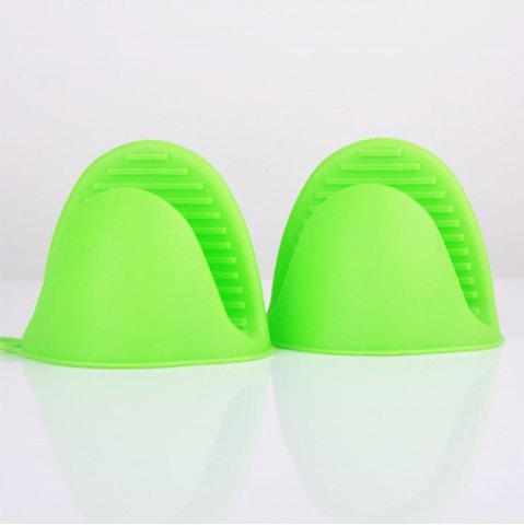 Outfit Thicken Kitchen Silicone Insulation Mini Gloves