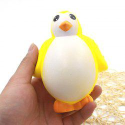 Latest Jumbo Squishy PU Slow Rising Stress Relief Toy Replica Female Penguin for Adults -