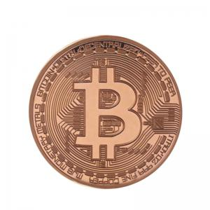 3 Pcs Or Plaqué Coin Collection BitCoin Art Collection Cadeau Physique -