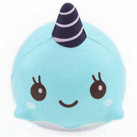 Jumbo Squishy Squeeze PU Whale Collection Gift Мягкая игрушка