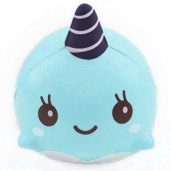 Jumbo Squishy Squeeze PU Whale Collection Gift Мягкая игрушка -