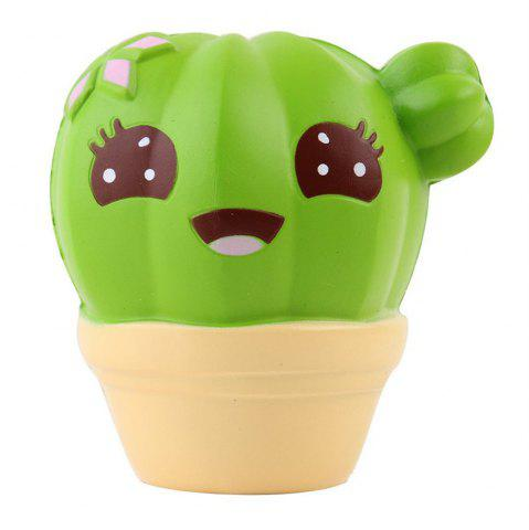 Jumbo Squishy Squeeze PU Cactus Emballage Collection Cadeau Peluche
