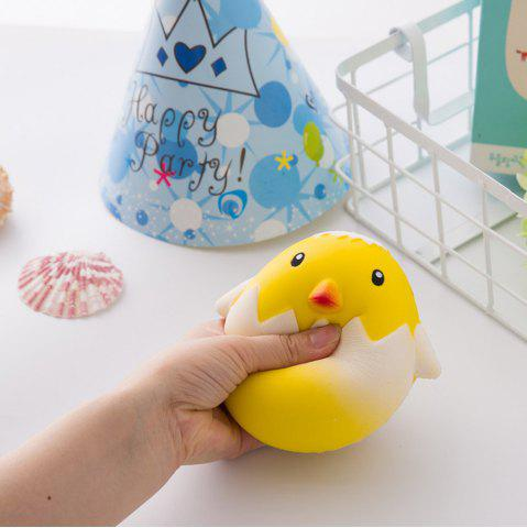 Hot Jumbo Squishy Squeeze PU Chick with A Broken Shell Collection Gift Soft Toy 1PC