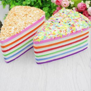 Jumbo Squishy Squeeze Gâteau Sandwich PU Collection cadeau peluche -