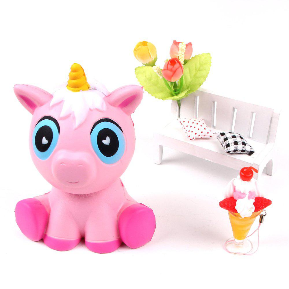 Chic Jumbo Squishy Squeeze Unicorn PU Collection Gift Soft Toy