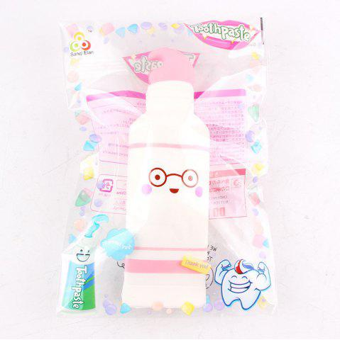 Dentifrice Jumbo Squishy Squeeze PU Collection cadeau peluche